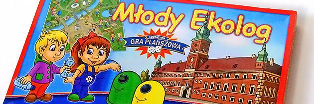 Planszowa gra edukacyjna – Młody Ekolog